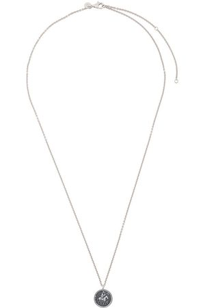 TOM WOOD Coin pendant necklace