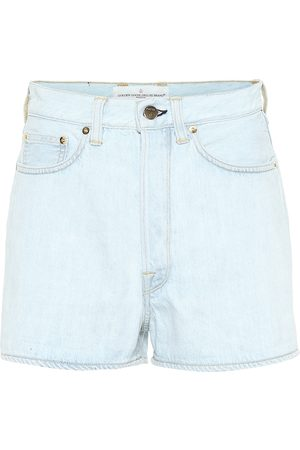 Golden Goose Women Shorts - Judy high-rise denim shorts