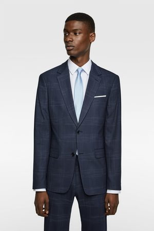 Zara Men Blazers - Check suit blazer
