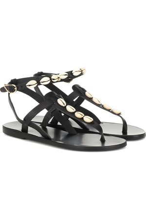 Ancient Greek Sandals Exclusive to Mytheresa – Estia embellished leather sandals