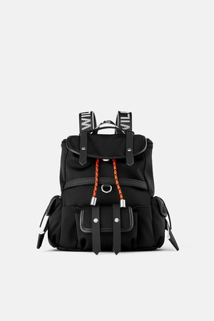 Zara Nylon mini backpack