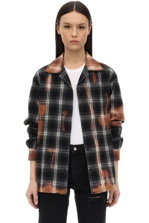 Represent Check Cotton Flannel Shirt