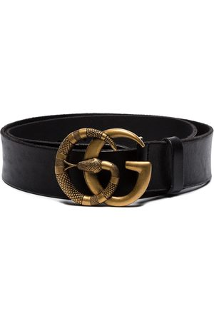 Gucci Double G snake buckle belt