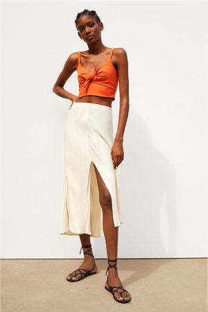 Zara Crop top with bow