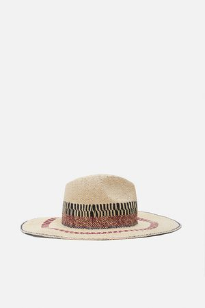 Zara Women Hats - Limited edition rustic hat