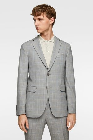 Zara Check suit blazer