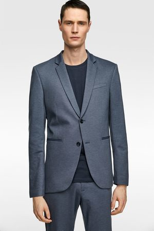 Zara 4-way comfort knit suit blazer