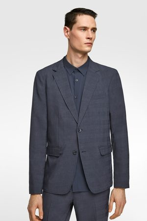 e264c9f8d9 Washable check suit blazer