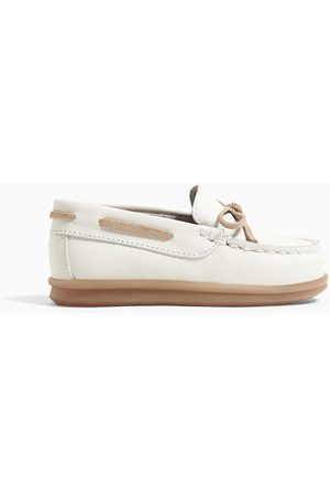 Zara Kids Bow Ties - Leather loafers with bow detail