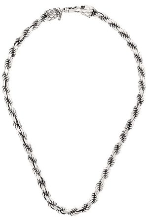 EMANUELE BICOCCHI Rope chain necklace