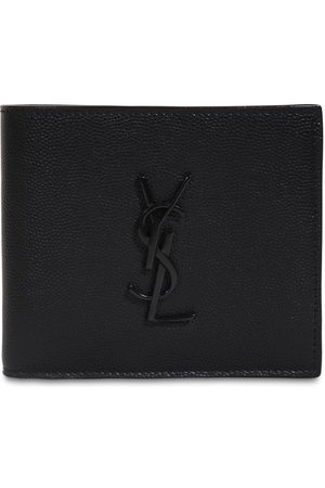 Saint Laurent Eastwest Grain Leather Wallet