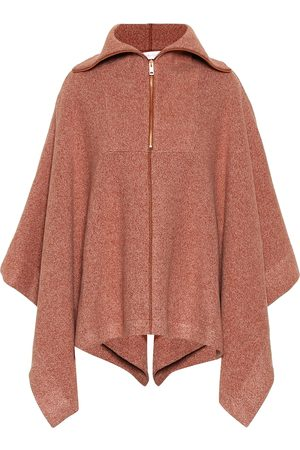 See by Chloé Ribbed cotton-blend cape