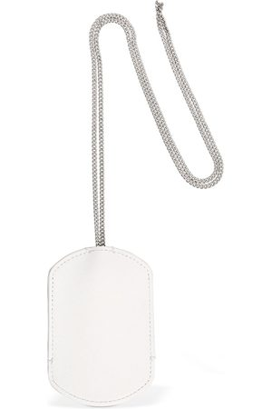 Maison Margiela Leather Key Ring W/ Chain