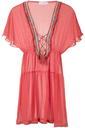 Brigitte Silk tunic dress