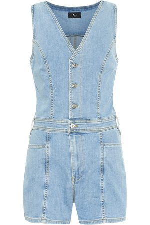 3x1 Women Dungarees - Albany denim playsuit