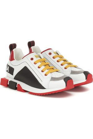 Dolce & Gabbana Girls Sneakers - Super King leather sneakers