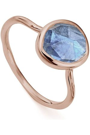 Monica Vinader Siren Stacking Kyanite ring