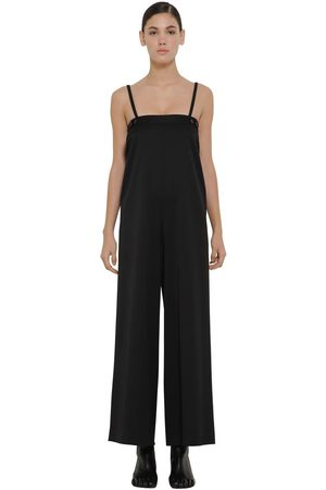MM6 MAISON MARGIELA Tailored Wool Blend Jumpsuit