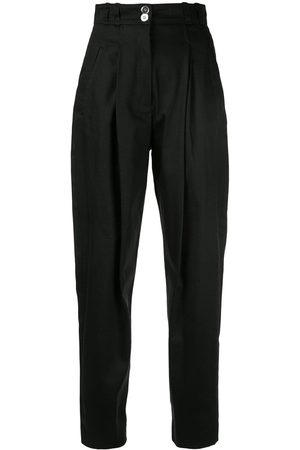 Giambattista Valli Plain high waisted trousers