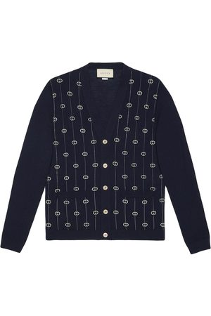Gucci Wool cardigan with GG