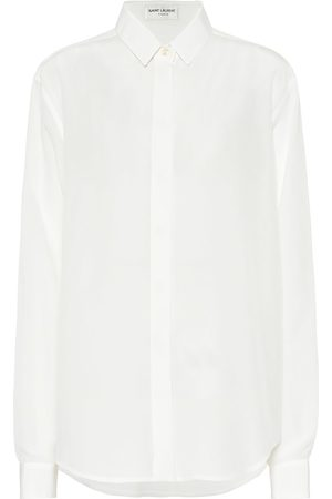 Saint Laurent Silk crêpe de chine blouse