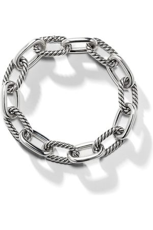 David Yurman Sterling silver DY Madison medium 11mm bracelet