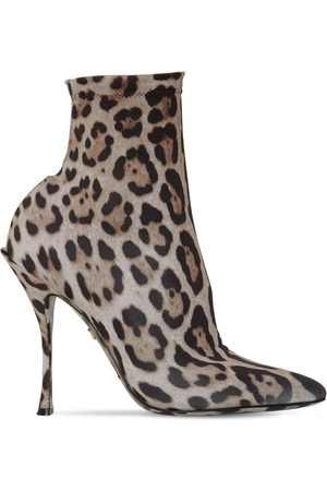Dolce & Gabbana Women Ankle Boots - 90mm Stretch Jersey Ankle Boots