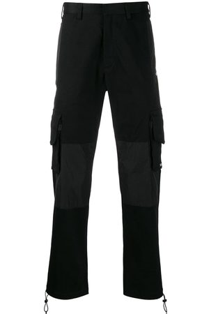 MARCELO BURLON Label cargo trousers