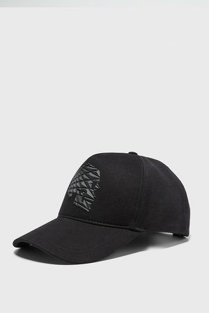 Zara Cap with raised skull