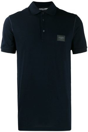 Dolce & Gabbana Logo patch polo shirt