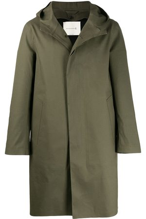 MACKINTOSH CHRYSTON Grape Leaf Bonded Cotton Hooded Coat GR-1003D