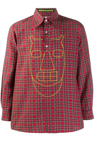 Walter Van Beirendonck Pre-Owned 2003/04's Pixidust checked shirt