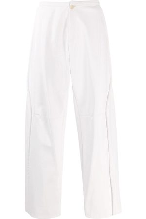 WALTER VAN BEIRENDONCK Men Leather Pants - 2009/10 Glow faux leather trousers