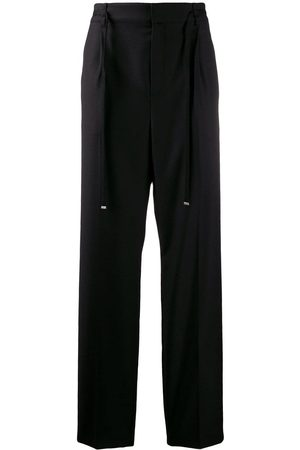 Saint Laurent Belted tailored trousers