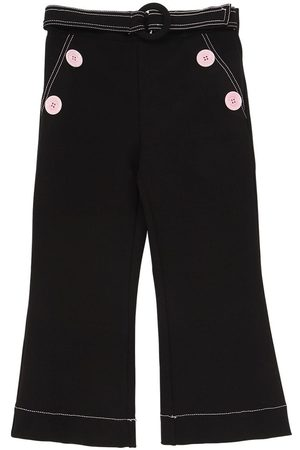 VIVETTA Girls Pants - Viscose Blend Punto Milano Pants