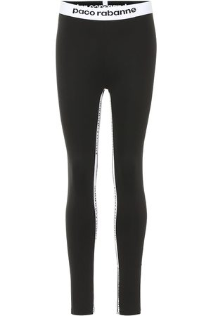 Paco rabanne Women Leggings - Logo leggings