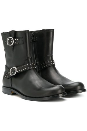 GALLUCCI Buckled ankle boots