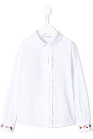 Dolce & Gabbana Boys Tops - Ruffle trim shirt