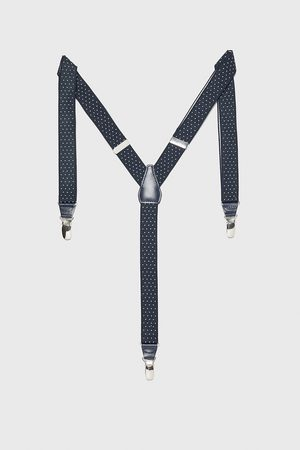Zara Thin polka dot braces
