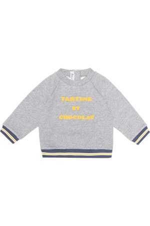 Tartine Et Chocolat Baby embroidered cotton sweatshirt