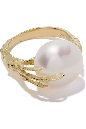 WOUTERS & HENDRIX 18kt claw pearl ring