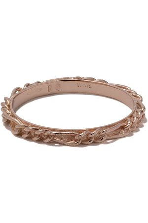 WOUTERS & HENDRIX 18kt rose Figaro Chain ring