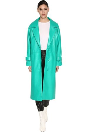 DROME Long Leather Coat