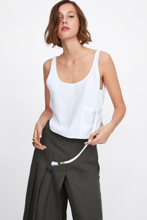 Zara Top with cord pocket