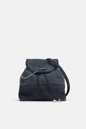 Zara Towelling fabric backpack