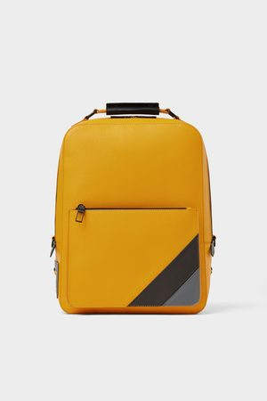Zara Men Rucksacks - Backpack with stripes