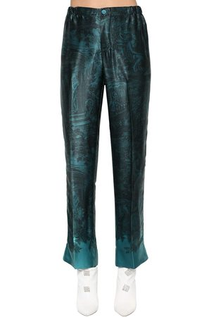 F.R.S For Restless Sleepers Printed Cupro & Viscose Pants