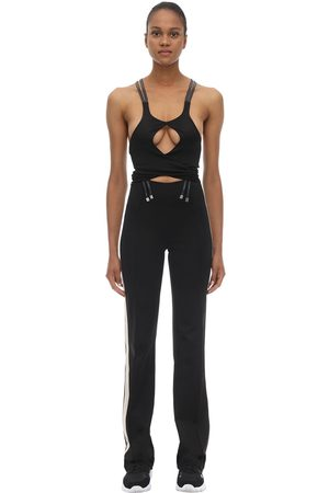 Palm Angels Acetate Blend Track Jumpsuit