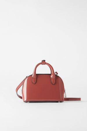 Zara Patent leather mini city bag