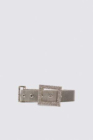 Zara Belt with bejewelled buckle